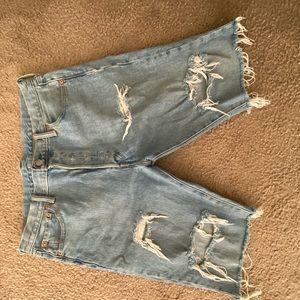 Unisex Levi custom shorts